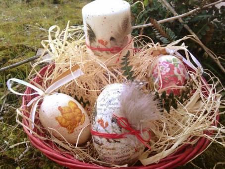 Uskršnja radionica - tehnike dekorisanja jaja i izrade uskršnjih aranžmana