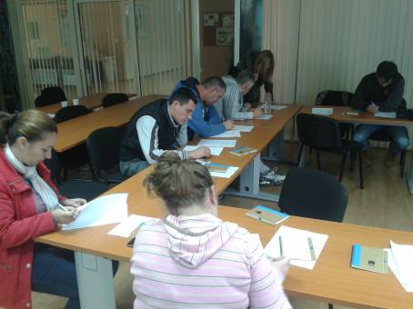 Held a two-day training ''Communication skills ''