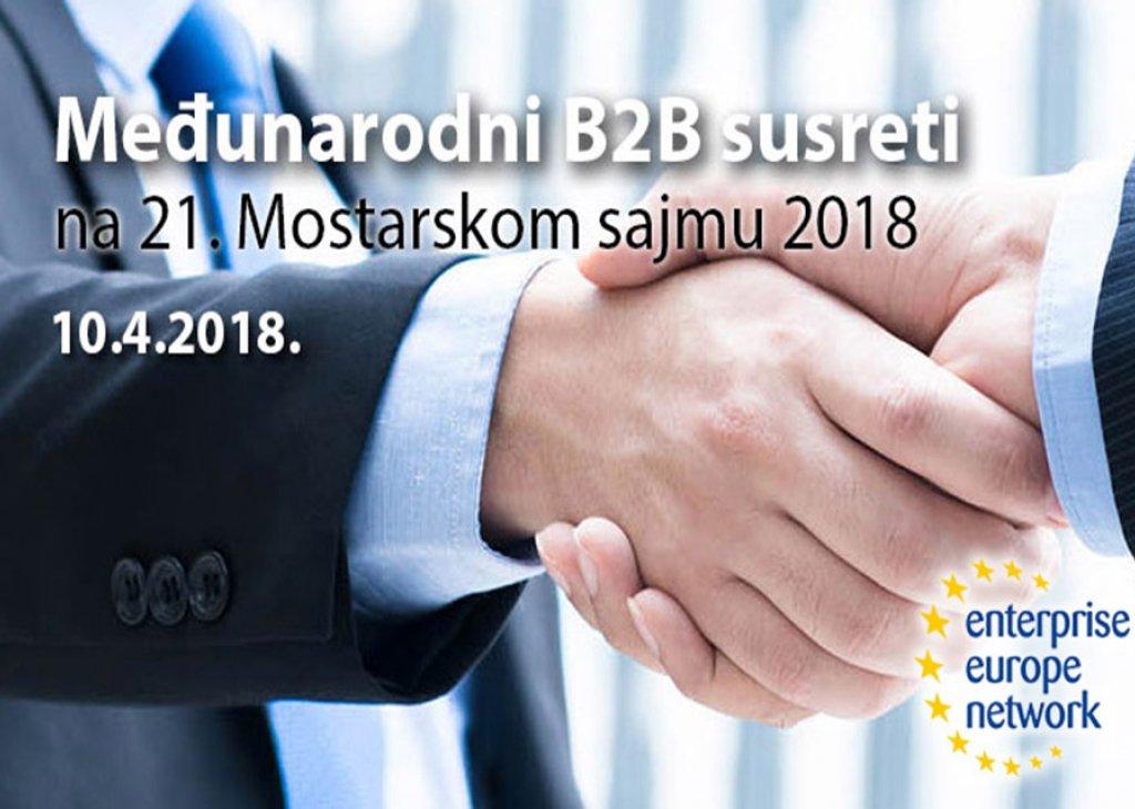 INTERNATIONAL B2B MEETINGS MOSTAR 2018