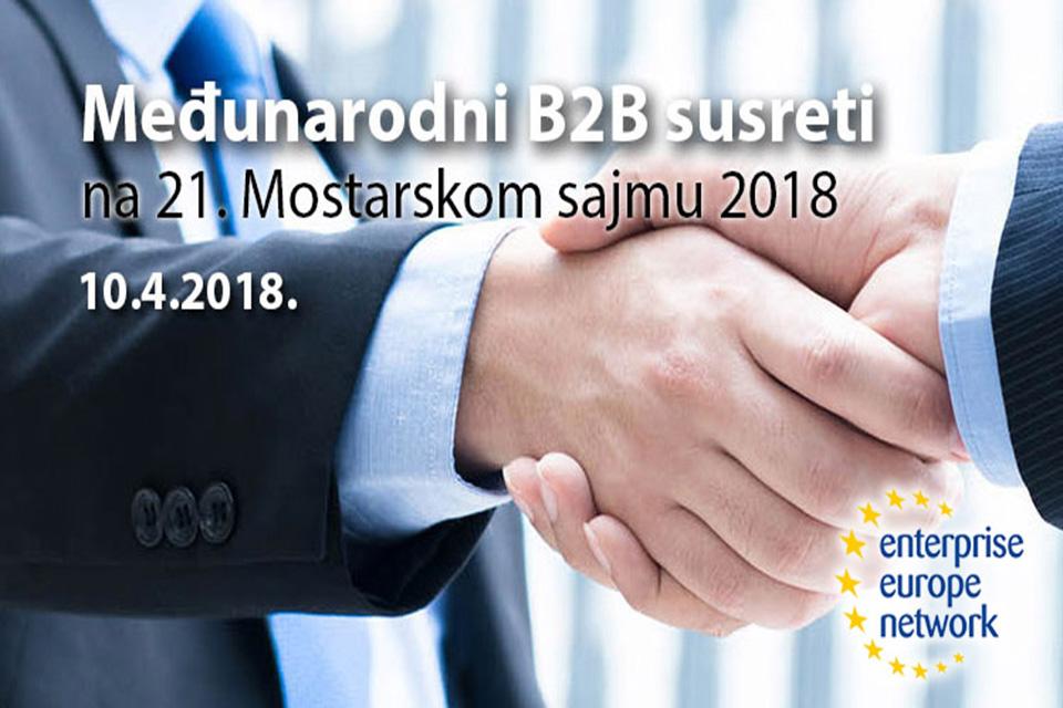 Međunarodni B2B susreti Mostar 2018