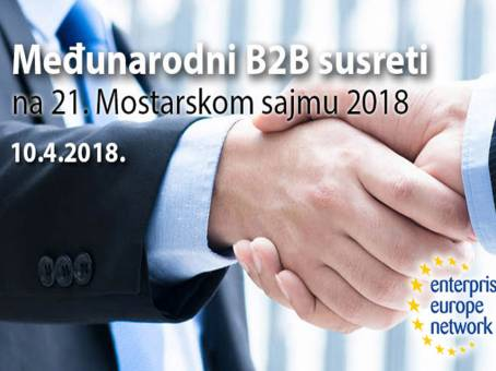 INTERNATIONAL B2B MEETINGS MOSTAR 2018