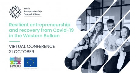 """Virtual conference """"Resilient entrepreneurship and recovery from Covid-19 in the Western Balkan"""""""